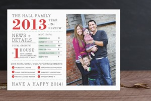 Minted Christmas Card Family Year
