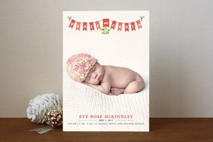 Minted Christmas Card Peace on Earth Banner