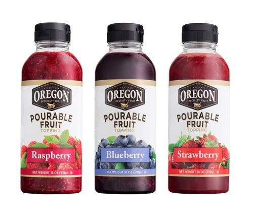 pourable fruit trio
